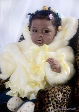 "african American reborn dolls | ... African American Silicone Baby ""Sky"" 