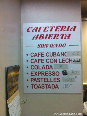 Quick Quiz: Cafeteria Menu Spanish Mistakes