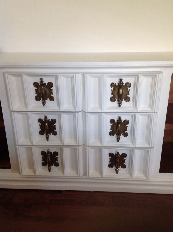 The amazing hardware on this girl I just finished for our home