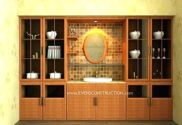 Modern Crockery Cabinet Designs Dining Room Modern In 2020 Layout Design Design Modern