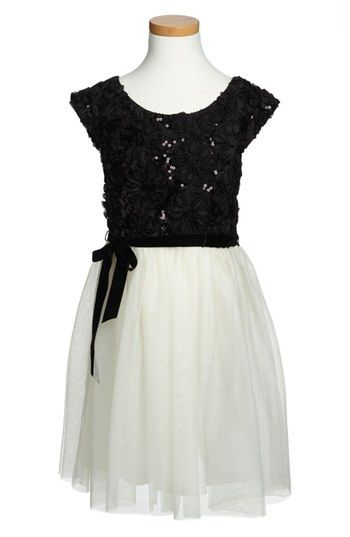Zunie Tulle Dress (Little Girls & Big Girls) available at #Nordstrom