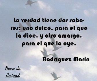 Frases filosoficas sobre la verdad de Rodríguez Marín