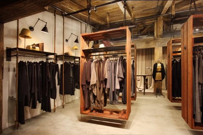 Nicole hollis interior design ruti clothing boutique in palo alto konsep store pinterest for Clothing store interior design pictures