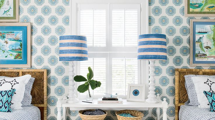9. Decorate walls with a little local flavor.   Bahamas designer Amanda Lindroth spills her secrets for creating authentic Caribbean style.