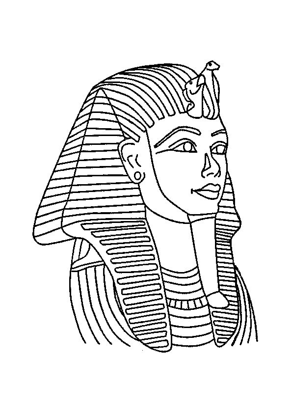 egyptian sphinx coloring pages - photo#12