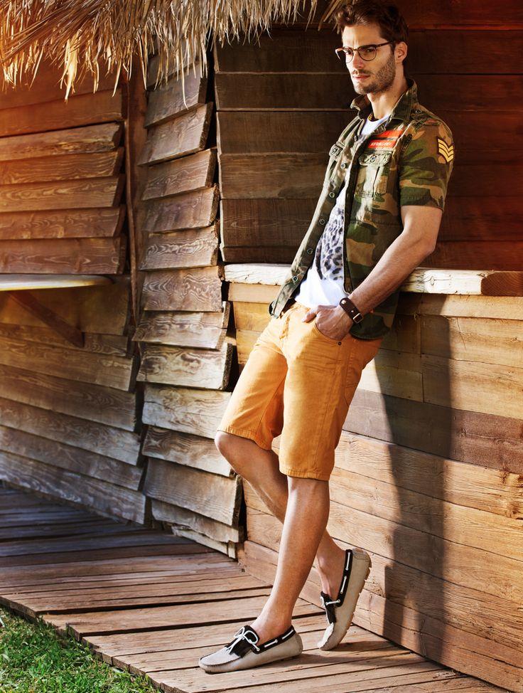 "FELIPE TOZZI FOR Spring/Summer 2014 Campaign ""Summer Camp"" by MIGATO #brazilianmodel #campaign #models #agenciaragazzo #modelsagency #ragazzomgmt"
