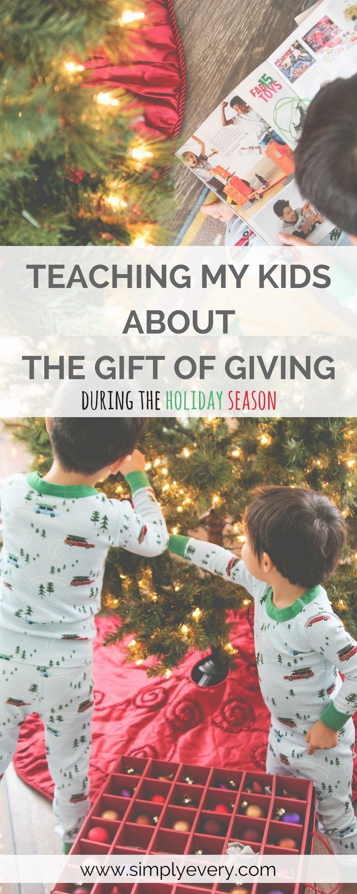 Teaching My Kids About the Gift of Giving | Family | Pinterest | Gift