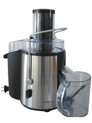 Jago ENTS-01 Juicer Machine Watts 850 - Description of Juicer Machine: Juicer machine with a high quality housing made out of stainless steel and extra-large feed shaft. Prepare fresh fruit and vegetable juices- easy and quick with this juicer machine. Up to 18,000 rpm Juicer machine with a Large pulp container with a capacity of... - http://irishcakesupplies.com/wp-content/uploads/2013/12/41JoahZigkL.jpg - #850, #ENTS01, #Jago, #Juicer, #Machine, #Watts  - http://wp.me/p2Sdi
