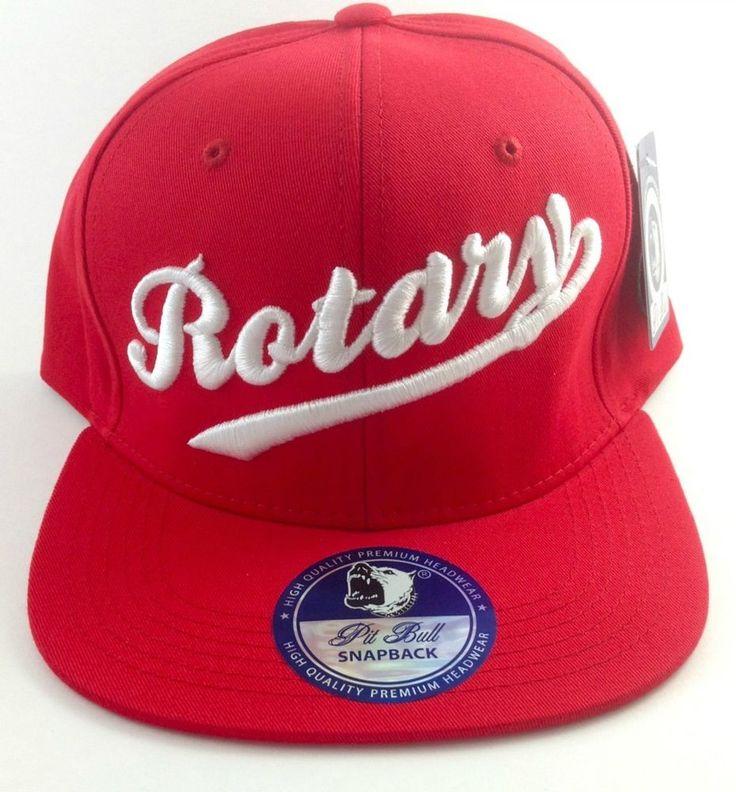 Mazda Rotary Baseball Cap Hat Rx7 Mazda Rx2 Rx3 Rx4