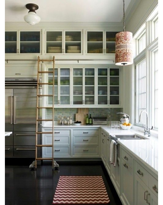 A classic kitchen with so much amazing storage space