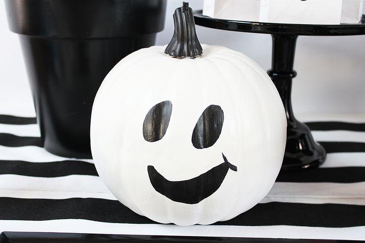 Easy DIY Ghost Pumpkins                                                                                                                                                                                 More