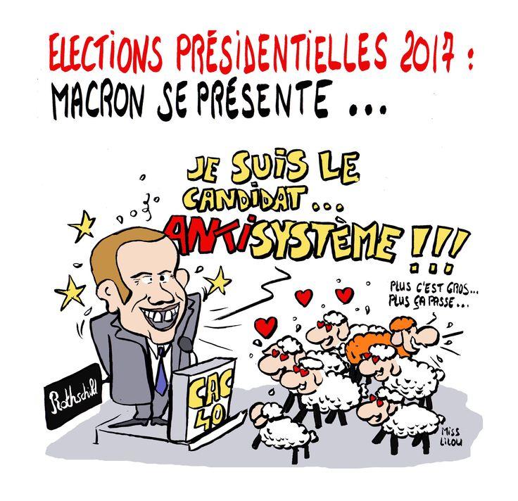 Élections Présidentielles 2017 : Macron se présente !
