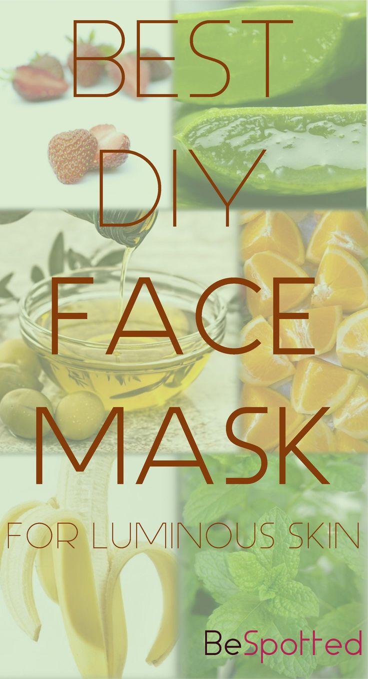 4 Best Fruity DIY Face Masks for Luminous Skin #diyskincare #skincare #skin #facemask #diyfacemask #beauty http://bespotted.org/