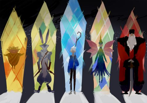 Rise of the guardians by yukim11