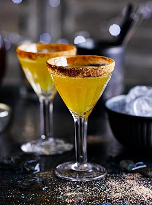 The sidecar cocktail has been around for over a century, but the cinnamon rim and clementine juice make it even better