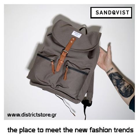 New Entry: Sandqvist Backpacks Now at #DistrictConceptStore Xar. Trikoupi 34-36, Ioannina Phone # +26510 78139. The place where you meet the new trends in fashion & style. Authorised retailer of Sandqvist bags in Greece. Shipping to Europe.