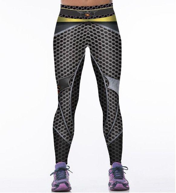 Harley Quinn BATMAN Gym Leggings Yoga Pant Women's Sport Leggings Tight Elastic Workout Fitness Leggings Running Sport Trousers
