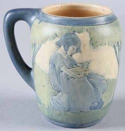 Value of Newcomb Pottery   pottery & porcelain, Louisiana, A rare Newcomb College Art Pottery ...