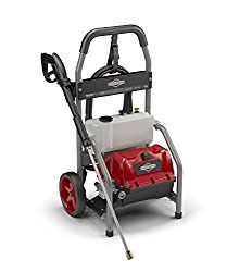 Briggs & Stratton Electric Pressure Washer 1800 PSI 1.2 GPM with 20-Foot High Pressure Hose, Turbo Nozzle & Detergent Tank