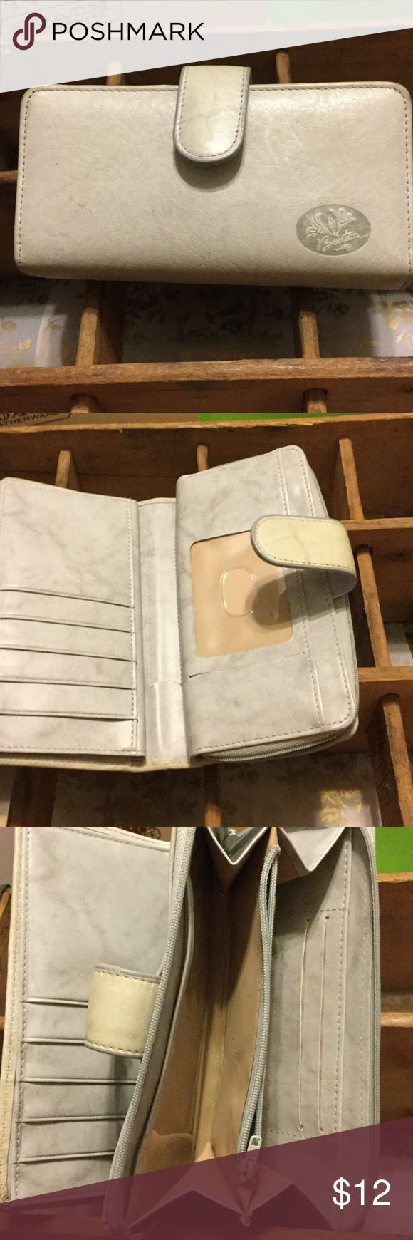 Wallet This beautiful great Buxton wallet is Preloved but in great condition. The exterior is top grain cowhide. 7 x 3 1/3 Buxton Bags Wallets