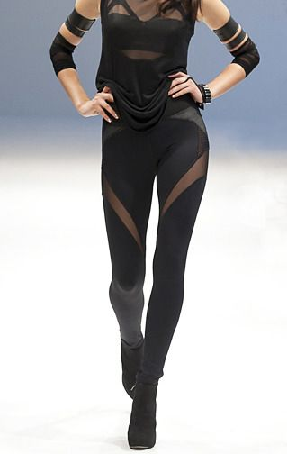 Michi Illusion Pant. This whole line is meant to be worn for workouts but it's almost too pretty for that?