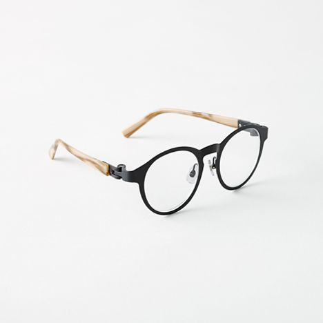 Nendo Unveils Glasses With Detachable Hinges That Let You Mix & Match Arms