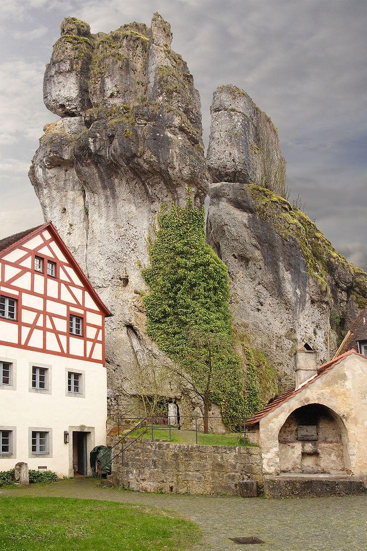 Felsburg Tüchersfeld