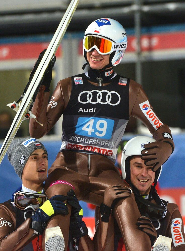 Kamil Stoch, Maciej Kot, Piotr Żyła. 4 Hills Tournament