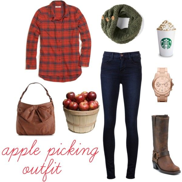 perfect apple picking outfit <3 - #gottalovefall #applepicking #falloutfit