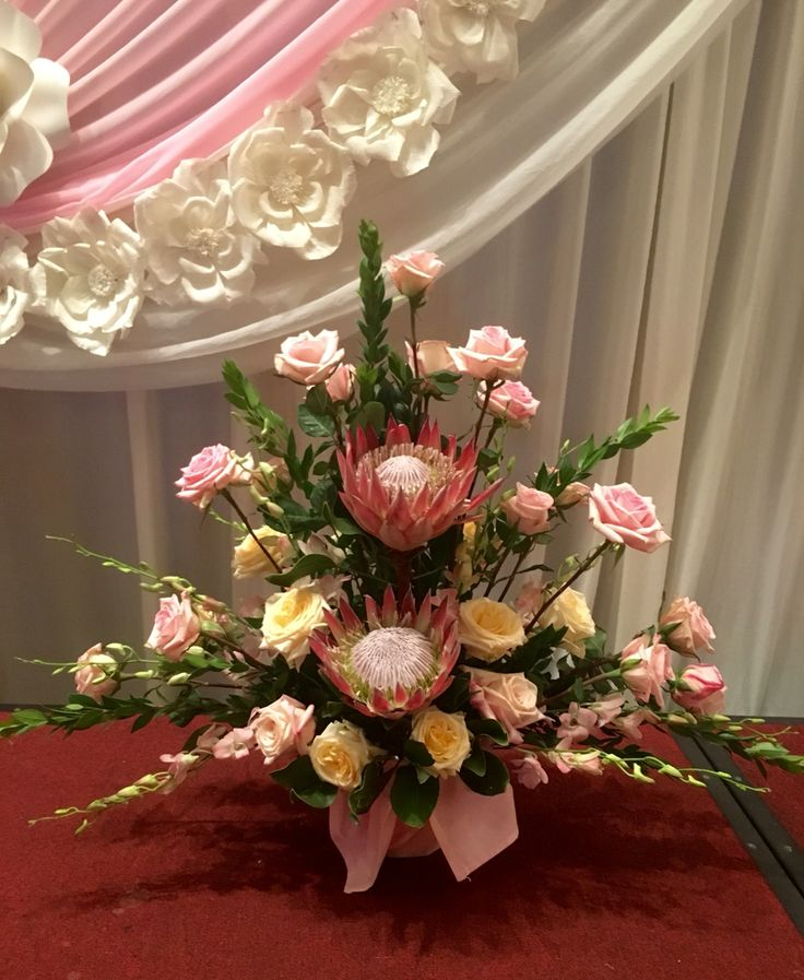 601 best images about designed by arcadia floral on for King protea flower arrangements