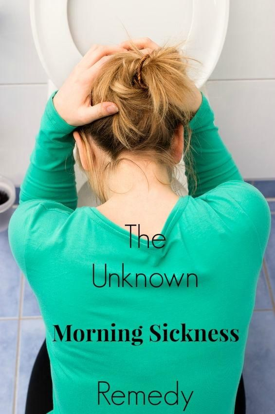 The Unknown Morning Sickness Remedy :: via Kitchen Stewardship