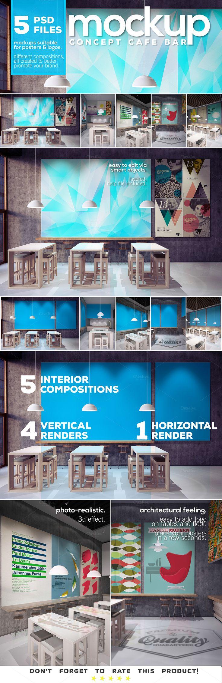6 poster design photo mockups 57079 - 6 Poster Design Photo Mockups 57079 2