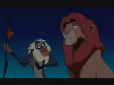 Change Is Good - Rafiki (The Lion King) - Use with Transitions unit OR nonfiction reflective writing