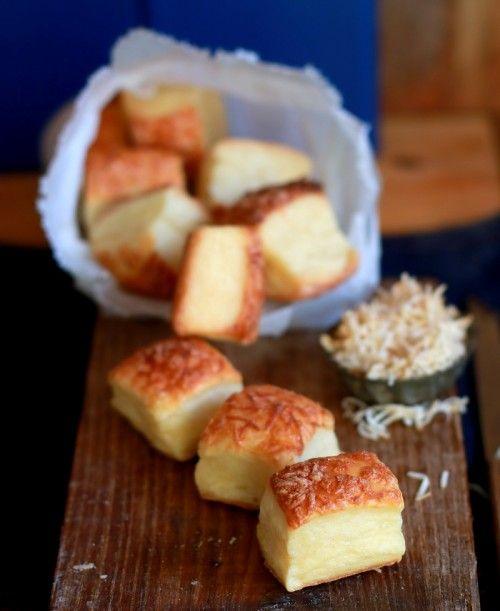 Füstölt sajtos, burgonyás kocka recept