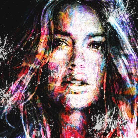 17 best images about peintures digitales digital faces sur plexi on pinterest sunglasses - Peinture sur visage ...