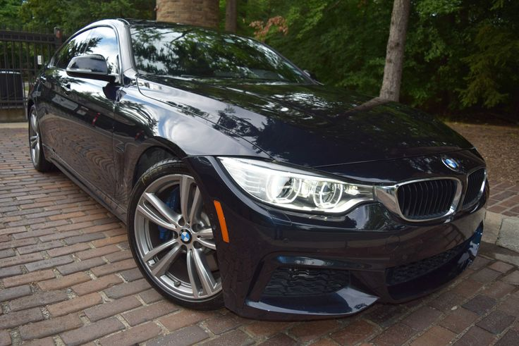 BMW: 4-Series GRAN COUPE  M SPORT PACKAGE-EDITION 2015 bmw 435 i gran coupe hatchback 4 door 3.0 l turbo leather sunroof tint xenon