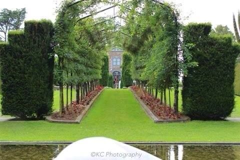 Looking up from the pond to Larnach Castle, Dunedin  Taken by KC Photography