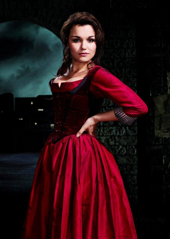 Samantha Barks in the musical Oliver! I just think she's the bee's knees and I want to have a career as successful as hers is.