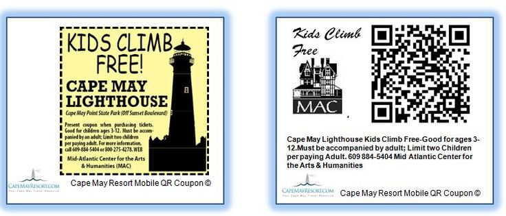 32 best cape may mobile qr coupon codes images on pinterest coupon for more information about the cape may mobile coupon program please visit capemayqr fandeluxe Image collections