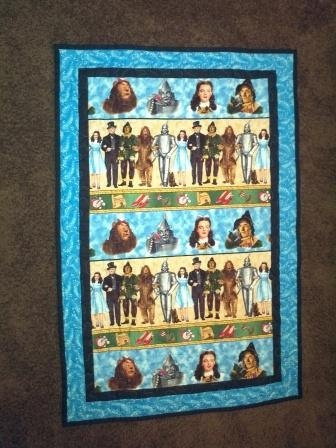 Wizard of Oz Quilt or Wall Hanging by WDeggs on Etsy, $80.00