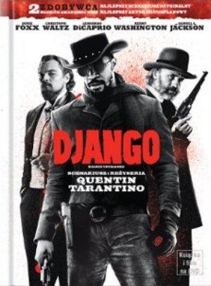 """Django unchained"", reż., scen. Quentin Tarantino. Obsada: Jamie Foxx, Christoph Waltz, Leonardo DiCaprio, Samuel L. Jackson, Sacha Baron Cohen. 159 min."