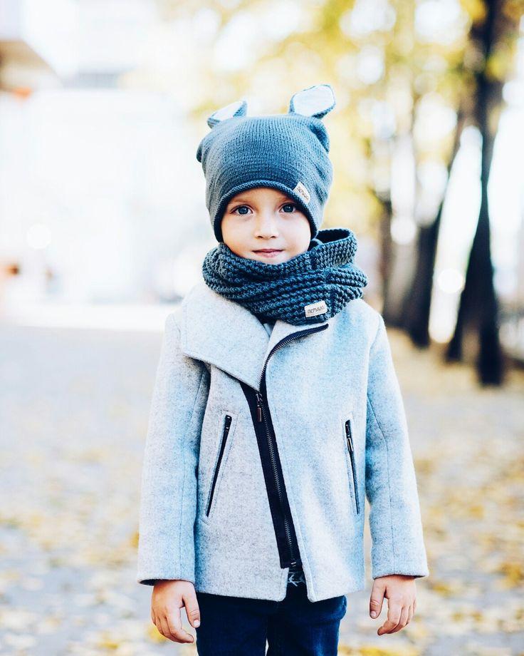 Пальто для мальчика. Boys coat.