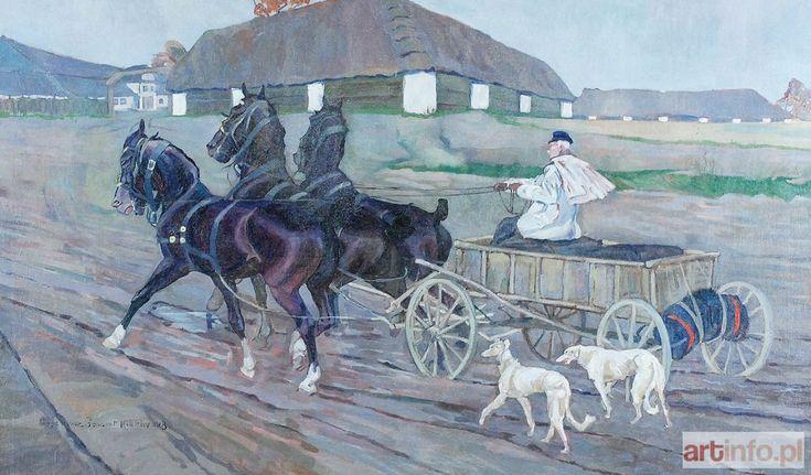 Eugeniusz GEPPERT, Trojka kara, 1918.