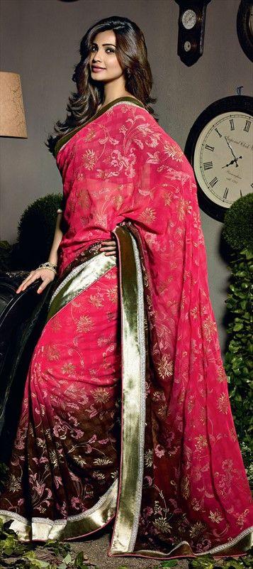 DAISY SHAH in saree  #Bollywood #gorgeous #beautiful