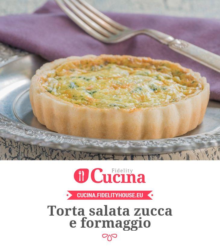 Torta salata zucca e formaggio