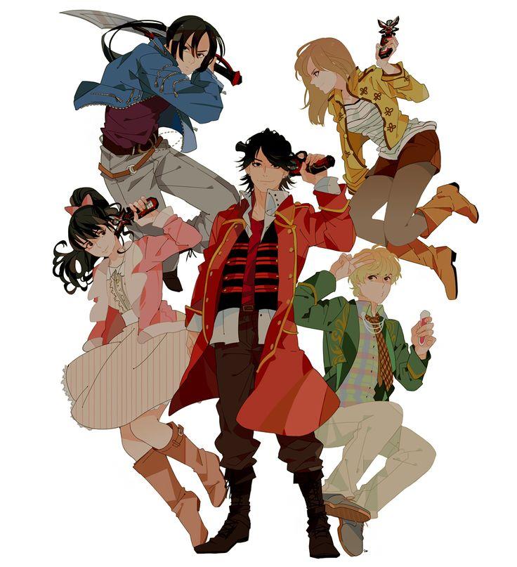 104 best images about Ahim De Famille (Kaizoku Sentai ...