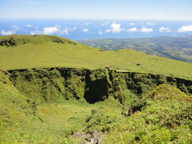 Photo Sommet de la Montagne Pelée © Guidemartinique.com
