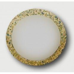 Decoupage Mirror, distressed, shabby chic