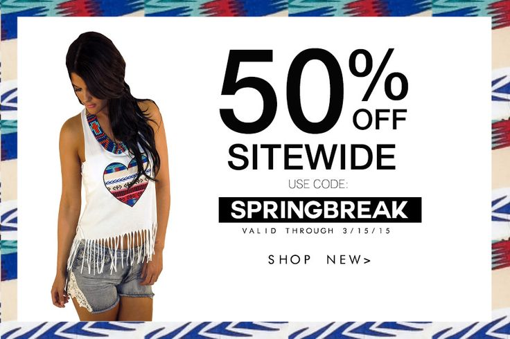 50% OFF Sitewide Sale!  www.macaboutique.com