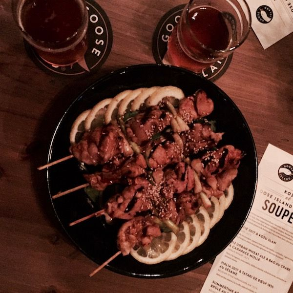 Less than a week ago, we had the chance to discover beers from Goose Island in a unique pairing with Kozu food. An amazing experience!